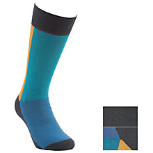 Buy Kin by John Lewis Panelled Socks, Pack Of 2, One Size Online at johnlewis.com