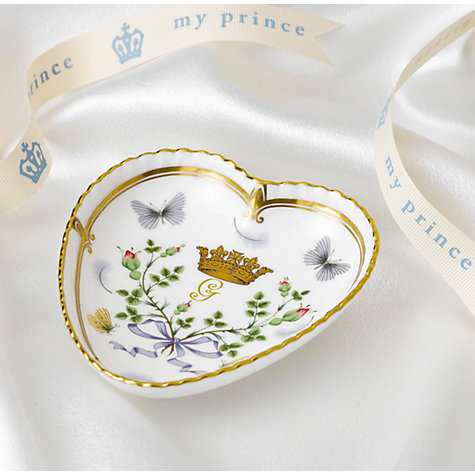 Buy Royal Crown Derby Royal Baby Heart Tray Online at johnlewis.com