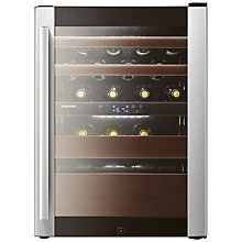 Buy Samsung RW52DASS Wine Cooler, Black/ Stainless Steel Online at johnlewis.com