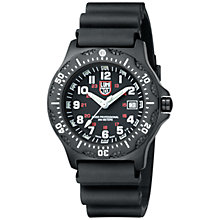 Buy Luminox A.8401 Men's Black Ops Stainless Steel PVD Case Watch, Black Online at johnlewis.com