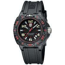 Buy Luminox Men's Sentry Silicone Strap Watch Online at johnlewis.com