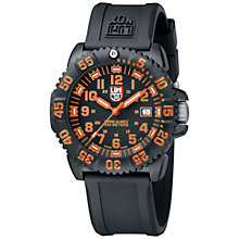 Buy Luminox 3050 Colourmark Men's Navy Seal Rubber Strap Watch Online at johnlewis.com