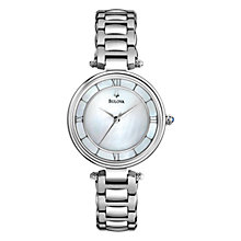 Buy Bulova Women's Dress Collection Mother of Pearl Dial Watch Online at johnlewis.com