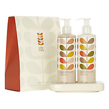 Buy Orla Kiely Geranium Hand Wash and Body Lotion Set, 2 x 50ml Online at johnlewis.com