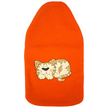 Buy Vagabond Cat Fleece Hot Water Bottle Online at johnlewis.com