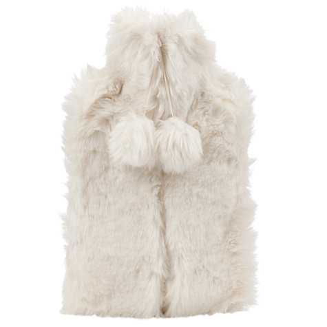Buy Vagabond Faux Fur Cream Hot Water Bottle Online at johnlewis.com