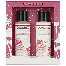 Buy Cowshed Gorgeous Cow Duo Set, 2 x 100ml Online at johnlewis.com