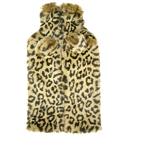 Buy Vagabond Faux Fur Leopard Hot Water Bottle Online at johnlewis.com
