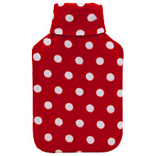 Buy Vagabond Spot Fleece Roll Top Hot Water Bottle Online at johnlewis.com
