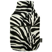 Buy Vagabond Faux Fur Zebra Hot Water Bottle Online at johnlewis.com