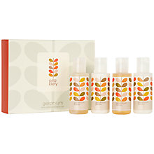 Buy Orla Kiely Mini Bath & Hand Gift Set, 250ml Online at johnlewis.com