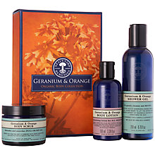 Buy Neal's Yard Geranium & Orange Body Gift Set Online at johnlewis.com