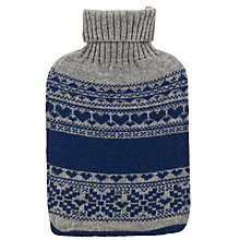 Buy Vagabond Nordic Knit Hot Water Bottle Online at johnlewis.com