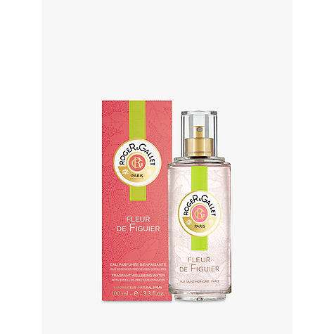 Buy Roger & Gallet Fleur de Figuier Eau Fraiche Water Spray, 100ml Online at johnlewis.com