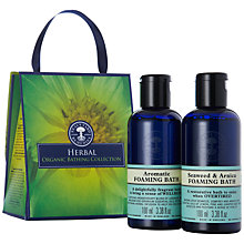 Buy Neal's Yard Herbal Organic Bath Set, 2 x 100ml Online at johnlewis.com