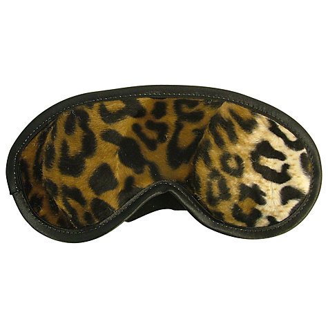 Buy Vagabond Leopard Eye Mask Online at johnlewis.com