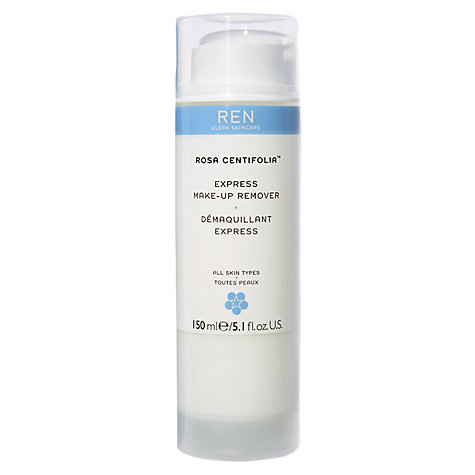 Buy REN Rosa Centifolia Make Up Remover, 150ml Online at johnlewis.com