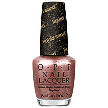Buy OPI Nails Mariah Carey Holiday Collection Liquid Sand, 15ml Online at johnlewis.com