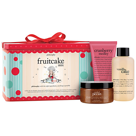 Buy Philosophy Fruitcake Mix Set Online at johnlewis.com