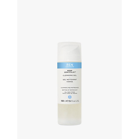Buy REN Rosa Centifolia Cleansing Gel, 150ml Online at johnlewis.com