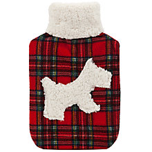 Buy Vagabond Scottie Dog Tartan Hot Water Bottle Online at johnlewis.com