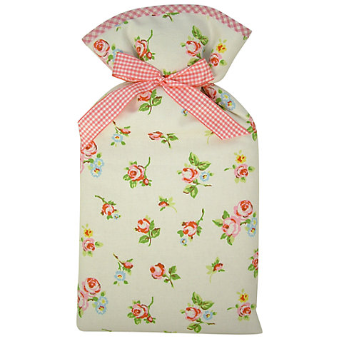 Buy Vagabond Rosebud Print Hot Water Bottle Online at johnlewis.com