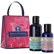 Buy Neal's Yard Rose & Geranium Organic Body Set Online at johnlewis.com