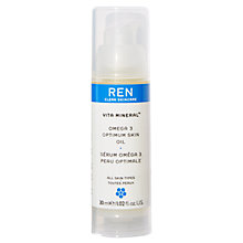 Buy REN Vita Mineral™ Omega 3 Optimum Skin Serum Oil, 30ml Online at johnlewis.com