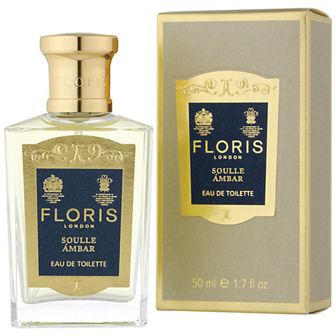 Buy Floris Soulle Ámbar Eau de Toilette, 50ml Online at johnlewis.com
