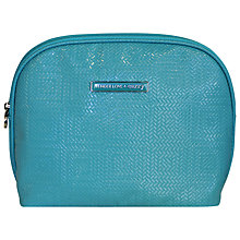 Buy Tender Love & Carry Chevron Chic Cosmetic Clutch, Turquoise Online at johnlewis.com