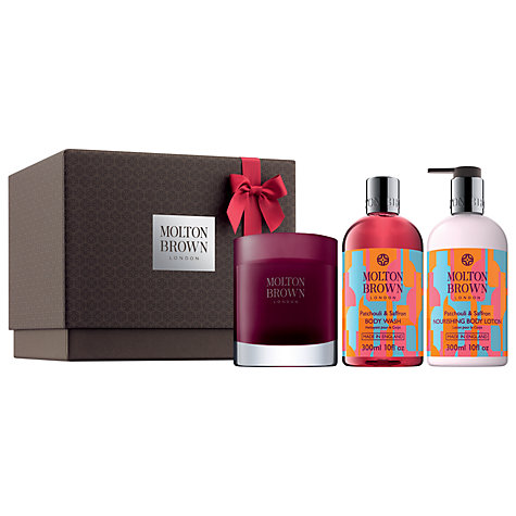 Buy Molton Brown The Patchoili & Saffron Trio Online at johnlewis.com