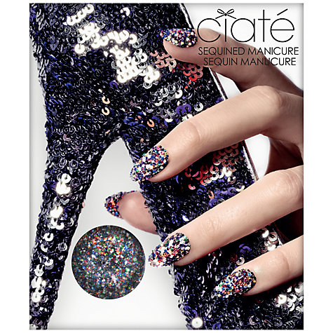Buy Ciaté Sequined Harlequin Manicure Set Online at johnlewis.com