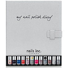 Buy Nails Inc. My Nail Polish Diary Gift Set, 12 x 10ml Online at johnlewis.com