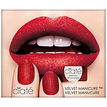 Buy Ciaté Red Velvet Manicure Set Online at johnlewis.com