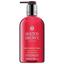 Buy Molton Brown Frankincense & Allspice Hand Wash, 300ml Online at johnlewis.com