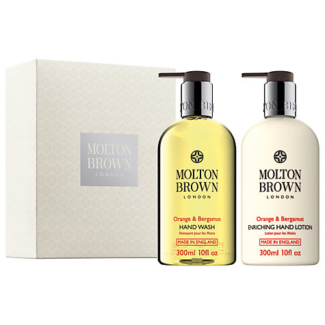 Buy Molton Brown The Orange & Bergamot Gift, 2 x 300ml Online at johnlewis.com