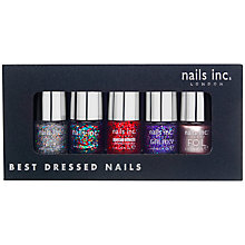 Buy Nails Inc. Best Dressed Nails Collection Gift Set, 5 x 4ml Online at johnlewis.com