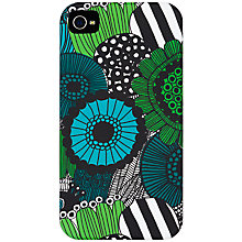 Buy Marimekko Siirtolapuut iPhone 4 Cover, Black Online at johnlewis.com