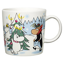 Buy Iittala Moomin Under the Christmas Tree Mug Online at johnlewis.com