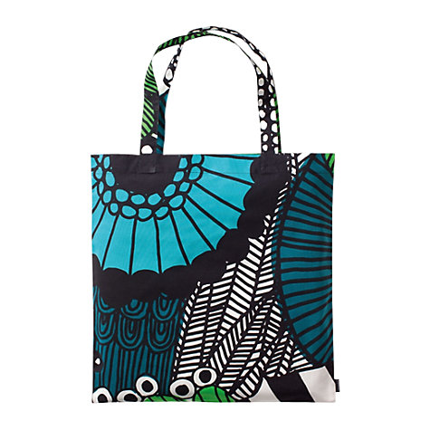 Buy Marimekko Siirtolapuutarha Bag, Blue Online at johnlewis.com