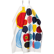 Buy Marimekko Kompotti Teatowel, Set of 2, Multi Online at johnlewis.com
