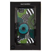 Buy Marimekko Siirtolapuut iPhone 5 & 5s Cover, Black Online at johnlewis.com