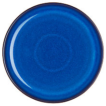 Buy Denby Imperial Blue Medium Coupe Plate, Dia.21cm Online at johnlewis.com