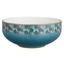 Buy Denby Azure Shell Cereal Bowl, Blue, Dia.16cm Online at johnlewis.com