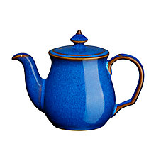 Buy Denby Imperial Blue Teapot Salt Shaker Online at johnlewis.com