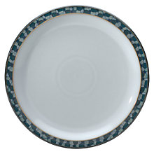 Buy Denby Azure Shell Dinner Plate, Blue, Dia.27cm Online at johnlewis.com