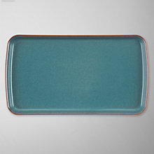Buy Denby Azure Rectangular Plate Online at johnlewis.com