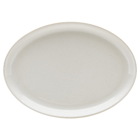 Buy Denby Linen Oval Serving Platter Online at johnlewis.com
