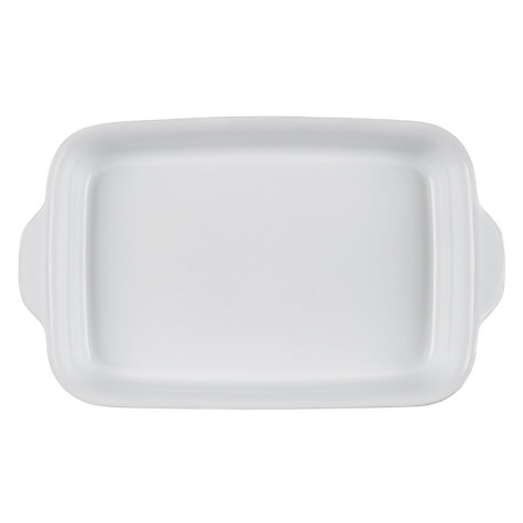 Buy Denby Azure Oblong Large Serving Dish Online at johnlewis.com