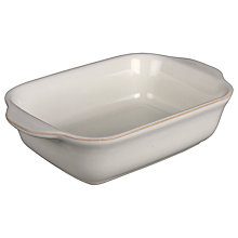 Buy Denby Linen Oblong Serving Dish Online at johnlewis.com